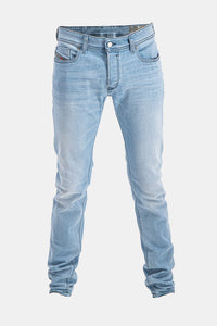Diesel Men's Sleenker 084QK Slim-Skinny Jeans In Light Blue - Labels4Less