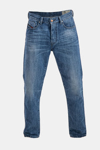 Diesel Men's Mharky 084UJ Slim Skinny Jeans In Blue - Labels4Less