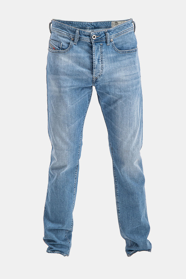 Diesel Men's Buster 084QN Slim-Tapered Jeans In Light Blue - Labels4Less