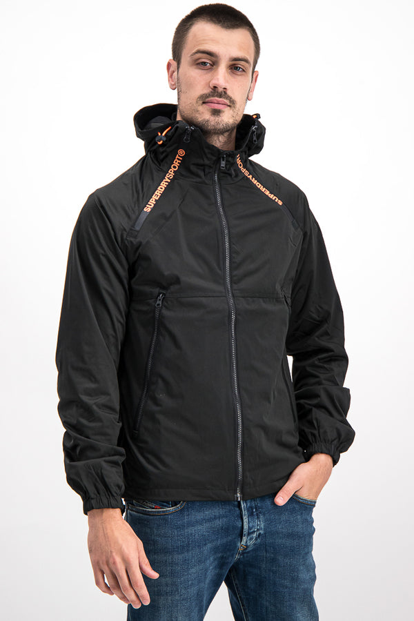 Superdry Men's Light Jacket In Black - Labels4Less