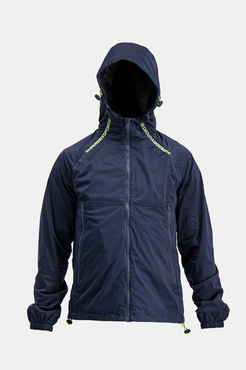 Superdry Men's Light Jacket In Navy Blue