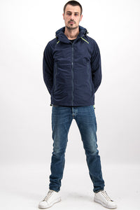 Superdry Men's Light Jacket In Navy Blue - Labels4Less