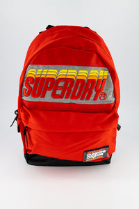 Superdry Men's Backpack In Orange - Labels4Less