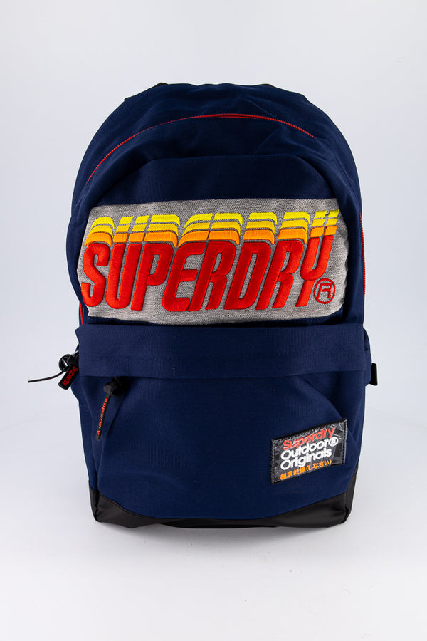 Superdry Men's Backpack In Blue - Labels4Less