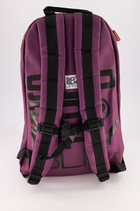 Superdry Men's Mega Ripstop Tarp Backpack In Black/Purple - Labels4Less