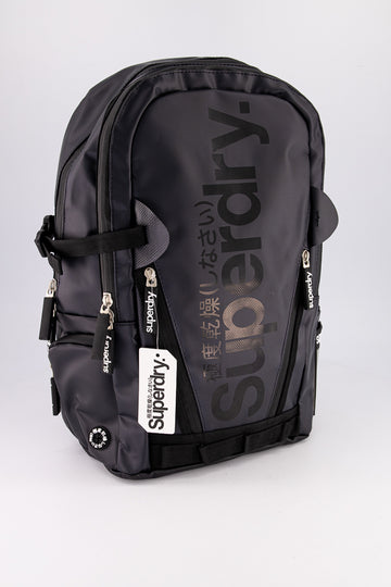 Superdry Men's Mega Ripstop Tarp Backpack In Black
