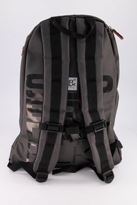 Superdry Men's Mega Ripstop Tarp Backpack In Black/Grey - Labels4Less