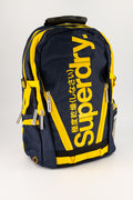 Superdry Men's Mega Ripstop Tarp Backpack In Blue/Yellow