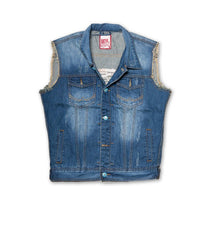 Superdry Men's Denim Sleeveless Jacket - Labels4Less