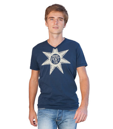 Diesel Men's Port Ltd T-shirt In Blue