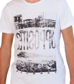 Diesel Men's Opposites T-shirt In White - Labels4Less