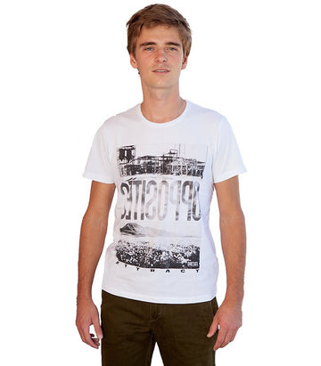 Diesel Men's Opposites T-shirt In White