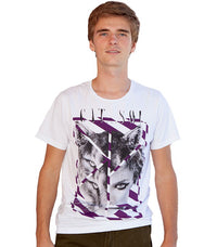 Diesel Men's T-Phora-RS T-shirt In White - Labels4Less