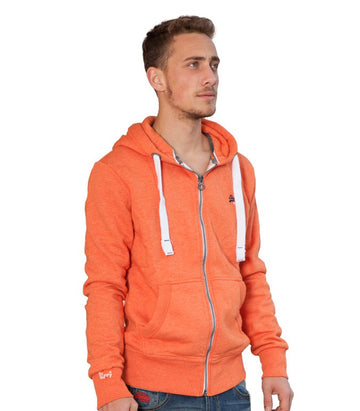Superdry Men's Orange Label Hoodie In Orange