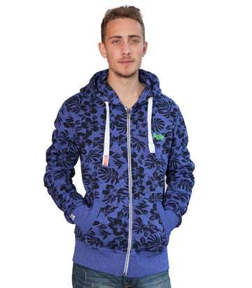 Superdry Men's All Over Leaf Hoodie