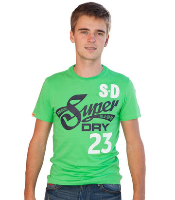 Superdry Men's Vintage Premium T-shirt In Green