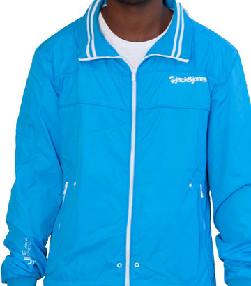 Jack & Jones light wind breaker blue