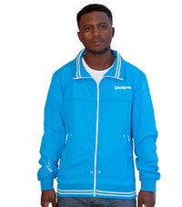 Jack & Jones light wind breaker blue - Labels4Less