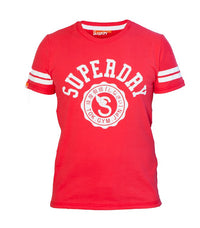 "Superdry Men's ""TOK.GYM.JPN"" T-shirt In Red - Labels4Less"