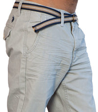 U.S Polo Assn. Chino Grey - Labels4Less