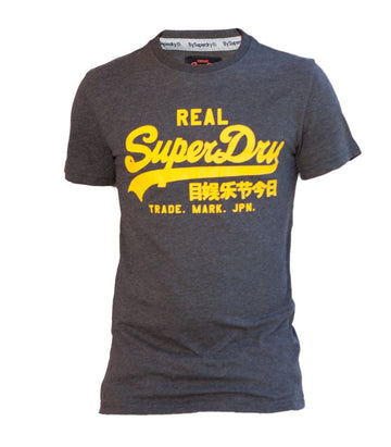 Superdry Men's Real T-shirt In Grey