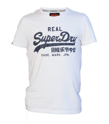 Superdry Men's Real T-shirt In White