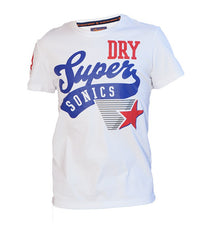 Superdry Men's Sonics T-shirt In White - Labels4Less