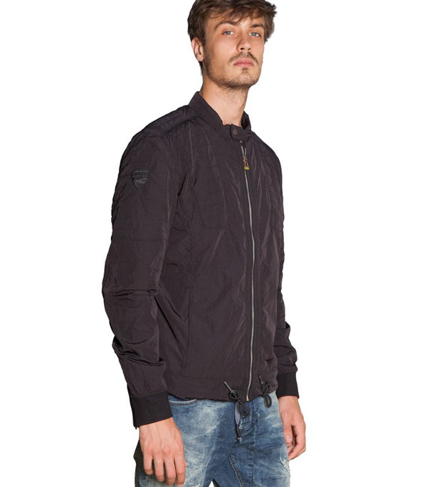 "Diesel Men's Ducati ""Only The Brave"" Jacket In Black - Labels4Less"