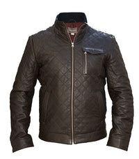 Jack & Jones Mountain Leather Jacket - Labels4Less