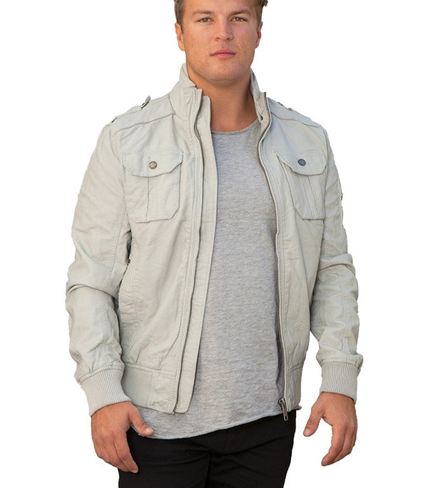 Jack & Jones Ukka PU Jacket - Labels4Less