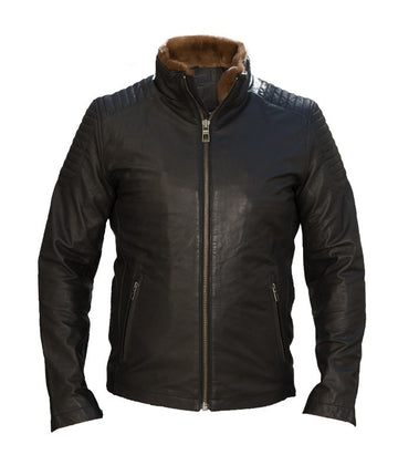 Jack & Jones lile leather jacket