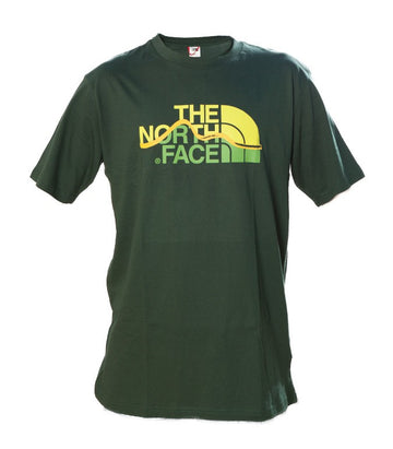 The North Face Mountain Line Green