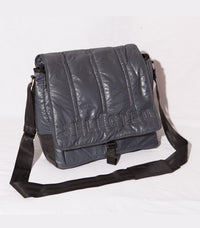 Selected Padded Bag Grey/Black - Labels4Less