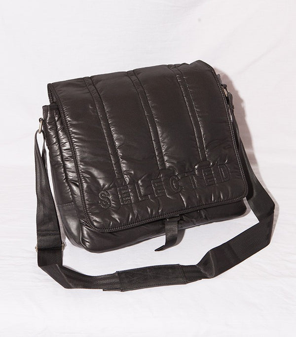 Selected Padded Bag Black - Labels4Less