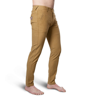 Superdry Men's Slim Fit Chinos In Khaki