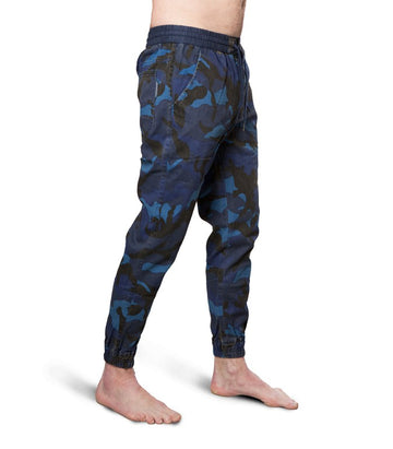 Scotch & Soda Camo Blue Chino