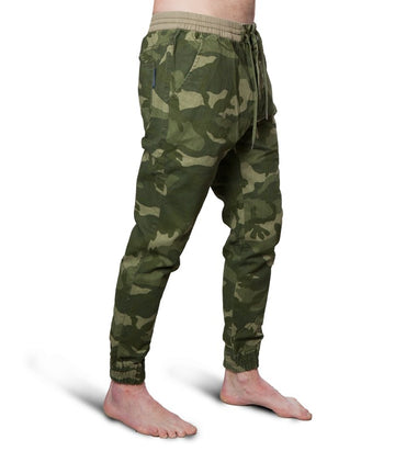 Scotch & Soda camo green chino
