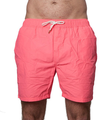Scotch & Soda Men's Boardshorts In Coral