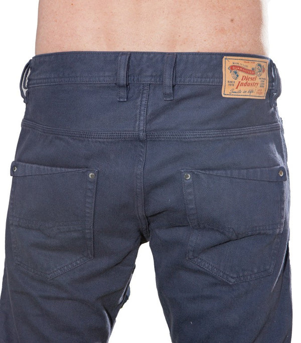 Diesel Men's Krooley OR8ZW Jeans In Midnight Blue - Labels4Less