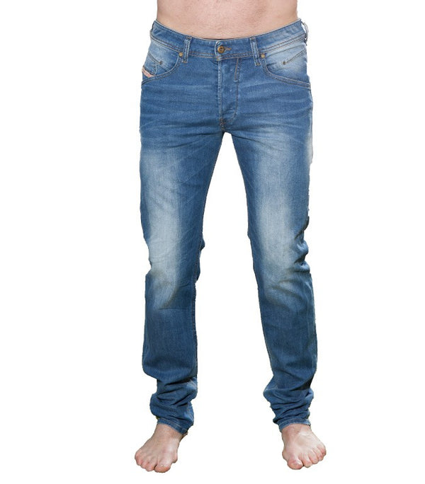 Diesel Men's Belther Wash 0833V Stretch Tapered Jeans - Labels4Less