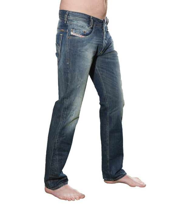 Diesel Men's Iakop Wash 0814A Jeans - Labels4Less