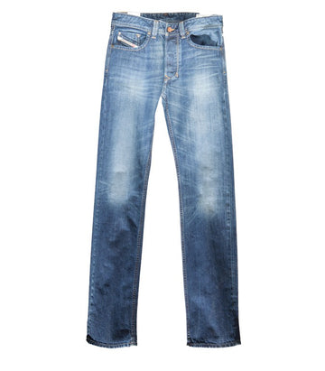 Diesel Men's Larkee 0801Z Straight Leg Jeans
