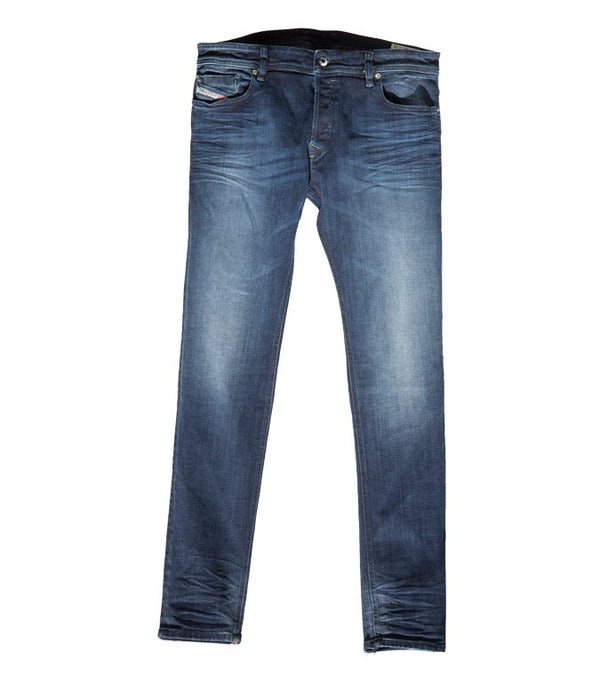 Diesel Men's Sleenker Wash OR23Z Skinny Jeans - Labels4Less