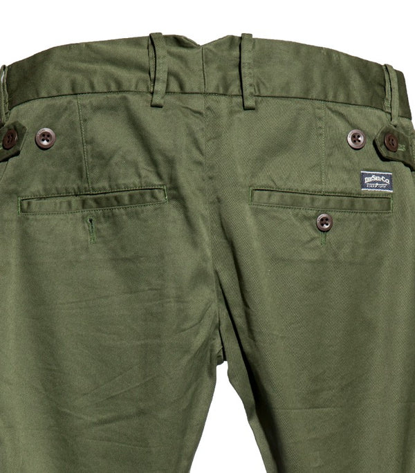 Diesel Men's Chi-Tight-A Pantalon Trousers In Green - Labels4Less
