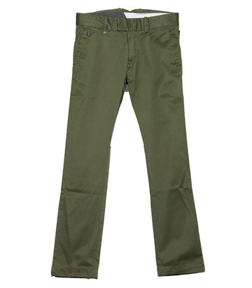 Diesel Men's Chi-Tight-A Pantalon Trousers In Green