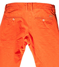 Diesel Men's Chi-Regs Pantalon Trousers In Orange - Labels4Less