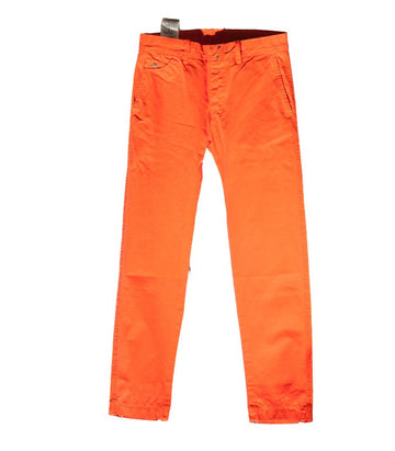 Diesel Men's Chi-Regs Pantalon Trousers In Orange