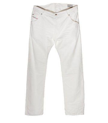 Diesel Men's Krooley Wash SR300 In White