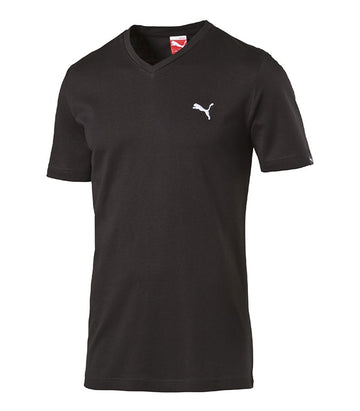 Puma ESS V-Neck Tee black-white