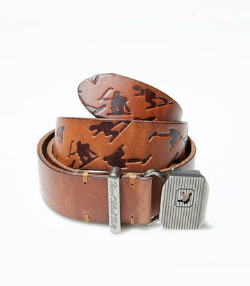 Diesel Khaki leather Belt BE1306